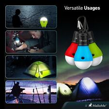 LED Portable Camping Tent Lamp Emergency Hiking Outdoor Light Lantern Bulb US