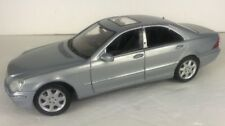 Maisto Mercedes Benz S Class 1/18 Scale Die Cast Car Silver S500