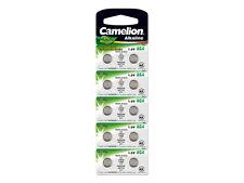 10 Stk Knopfzellen Uhrenbatterien Knopf Zellen Camelion AG4 1.5V LR626 LR66 177