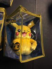 "Pokemon Winking Pikachu 20th Anniversary 8"" Plush Limited Edition Tomy"