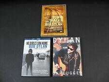 Lot Of 3 Concer/Music DVDs - Bob Dylan