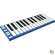 CME Xkey Portable Slim USB MIDI 25-Key Keyboard Mobile Studio Controller Blue