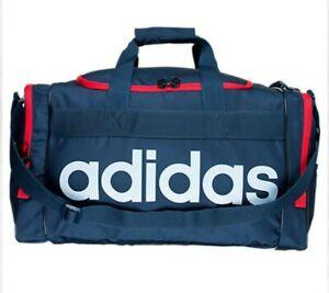 adidas Originals Unisex Santiago Duffel Bag, Navy/Scarlet/White ,One Size, 006