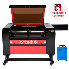 Mf 2028 100e 100w 28x20 Co2 Laser Engraver Cutter With Cw 5200 Water Chiller