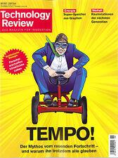 Technology Review, Juni 06/2017: Tempo!  +wie neu +