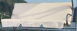 Set Cuscini per Dondolo a 3 posti 139x46x46 cm Romantic G.del Re