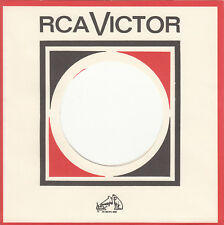 FIRMENLOCHCOVER * RCA VICTOR * Repro COVER * NEU * TOP SINGLE AUFWERTUNG