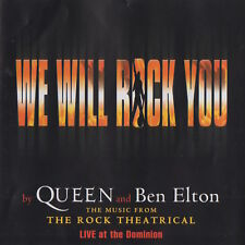 WE WILL ROCK YOU - LIVE AT THE DOMINION - SOUNDTRACK CD