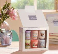 Yankee Candle  6 Votive / Sampler Candles Gift Set - New Spring 2018 Range