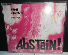 FIVE THIRTY - 'ABSTAIN' - CD SINGLE - INDIE