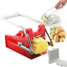 Plastic Potato Chopper Chips Cutter French Fries Machine Homemade Chips Maker