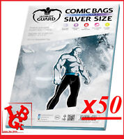 Pochettes Protection Silver Size REFERMABLES comics x 50 Marvel Urban Panini