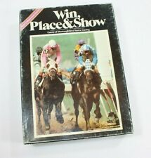 Win, Place & Show the game of thoroughbred horse racing 1977 Avalon Hill C4/B10