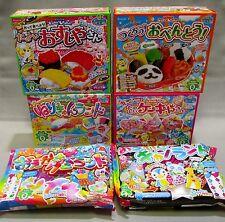 6 pcs Kracie DIY making kit Happy Kitchen popin cookin Japanese candy OBENTO