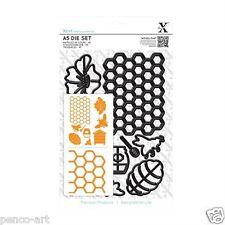 Docrafts Xcut 9 piece A5 sheet Bee Keeping die set Use X cut Sizzix eBosser etc
