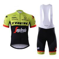 2017 Mens New MTB Cycling Short Sleeve Jersey bib Shorts Size S/M/L/XL/XXL/XXXL