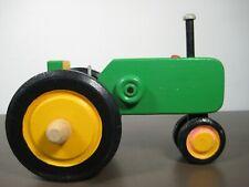 Wooden Handcrafted John Deere Green Tractor