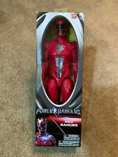 Saban's Power Rangers Movie Red Ranger Action Figure 12 Inches New
