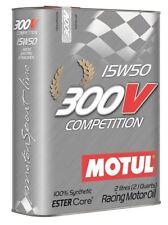 Aceites de motor sintéticos 15W50 para vehículos