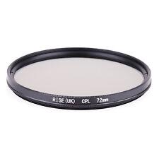 72mm CPL Polarizing Lens Filter for Canon Nikon Sony Pentax Sigma Olympus
