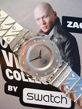 "SWATCH: SKIN-RARITÄT ""DIE ANOTHER DAY"" JAMES-BOND 007 - ZAO *NEU / SUPERSELTEN!*"