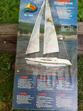 Vintage década de 1970 Robbe R/C Arco Iris Velero Nuevo en Caja Kit # 1056