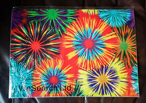 Laptop Removeable Vinyl Decals Stickers Skin Cover 20x14 Inches Fireworks