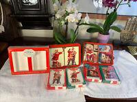 COCA-COLA Vintage Nostalgia Playing Cards & Collectible Tin 1994 4 Decks Sealed