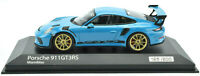 Minichamps / PH Porsche 911 991.2 Miami Blue GT3 RS 1:43 Diecast Car 413067038