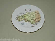 1 Vintage Roslyn Fine Bone China South Wales Bread Plate 16970