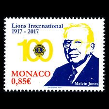 Monaco 2017 - 100th Anniversary of Lions Clubs International - MNH