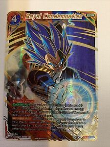 Dragonball Super Card Game Royal Condemnation BT9-110 SPR  NM