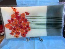 Beautiful Decorative Glass Tray-sm