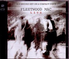 2 CD (NUOVO!). Fleetwood Mac Live (GO Your Own Way DON 'T STOP I' m così prepararmi mkmbh