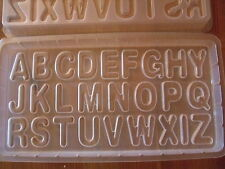 English Alphabets ABC 26 Letters -  Plastic Baking Steam Dessert Jello Mold