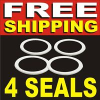 4 New Replacement Seals for Osterizer Oster Blender = Rubber Gasket Sealing Ring
