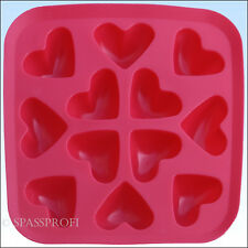 Eiswürfelform Herzen Eiswürfel in Herz form eisige Liebe für Longdrinks