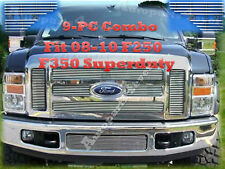 2010 Ford F250 F350 9PC Billet Grille Combo 10 08 09
