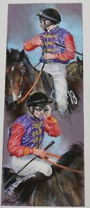 """Jay Kirkman """" Queens Colours """"  Limited Edition Print - Large"""