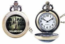 The Walking Dead TV Series Bronze Finish Pendant Pocket Watch