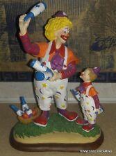 Barnum's Classic Clowns Sculpture Figurine 1994 Danbury Mint The Juggling Lesson