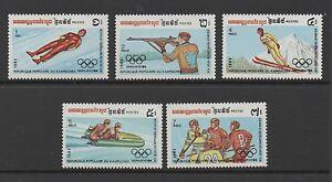 KAMPUCHEA 1983 WINTER OLYMPICS, SARAJEVO (1984) (1st issue) *VF MNH*