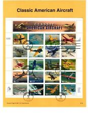 3142 Classic American Aircraft USPS First Day Commemorative Page