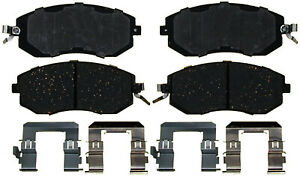Disc Brake Pad Set-Ceramic Disc Brake Pad Front ACDelco Pro Brakes 17D1539CH