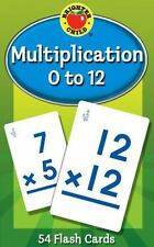 Multiplication 0 to 12 by Carson-Dellosa Publishing Staff (2006, Flash Cards)
