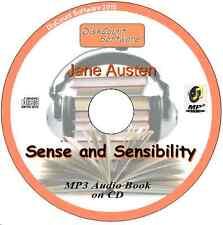 Sense and Sensibility - Jane Austen Doyle MP3 Audio Book 50 episodes/chapters CD