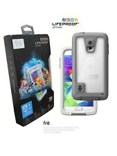 SAMSUNG GALAXY S5 FRE CASE Lifeproof Waterproof Scratch Protector White Clear