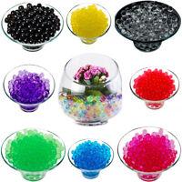 1000 Water Aqua Soil Crystals Beads for Wedding Decor Vase Filler Centerpiece UK