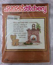 Sunset Stitchery Bless Our Home Beginning Stitchery Kit Sunset Designs Sealed