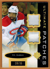 2013-14 , UPPER DECK , ULTIMATE , P.K SUBBAN , PATCHES , /35